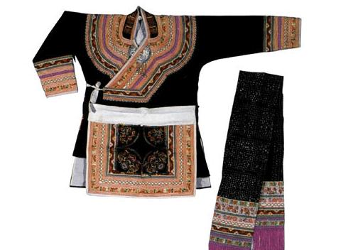 畲族男子的服饰